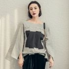 Two-Tone Pullover 1596