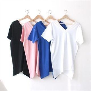 V-Neck Short-Sleeve T-Shirt 1058038992