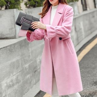 Notched Lapel Coat 1062068586