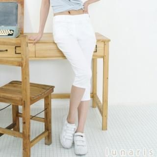 Picture of Lunaris Cropped Pants 1022846400 (Lunaris Apparel, Womens Pants, South Korea Apparel)