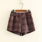 Pleated Shorts 1596