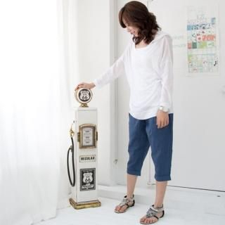 Picture of Cookie 7 Cropped Linen Blend Pants 1022810739 (Cookie 7 Apparel, Womens Pants, South Korea Apparel)