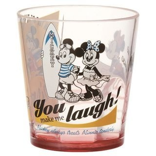 Mickey Mouse Clear Plastic Cup 280ml 1059606907