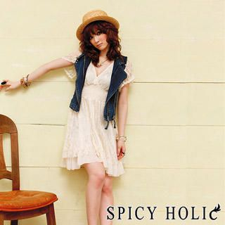 Buy SPICY HOLIC Lace Layered Dress 1022536276