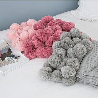 Image of Bobble Cotton Blanket
