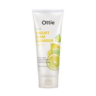 Ottie - Fruits Yogurt Foam Cleanser (Lemon) 150ml 1049551516