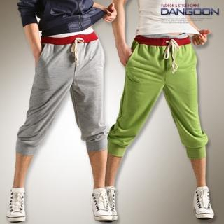Picture of DANGOON Cropped Sweatpants 1022517014 (DANGOON, Mens Pants, Korea)