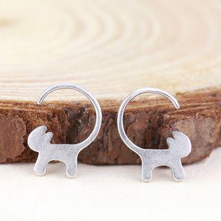 sterling-silver-cat-earrings