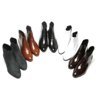 Picture of Portfranc Genuine Leather Ankle Boots 1022391212 (Boots, Portfranc Shoes, Korea Shoes, Mens Shoes, Mens Boots)
