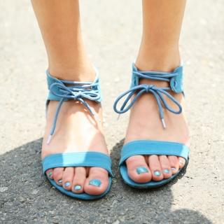 Picture of Jean Stone Ankle Strap Sandals 1022776889 (Sandals, Jean Stone Shoes, Korea Shoes, Womens Shoes, Womens Sandals)