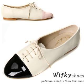 Buy Wifky Color-Block Oxfords 1021165246