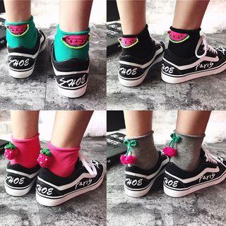 Fruit Embroidered Socks 1064996965