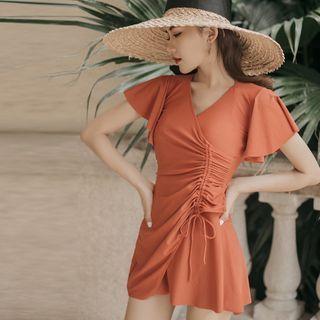 Image of Short-Sleeve Sundress