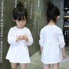 Kids Long-Sleeve Dress 1596