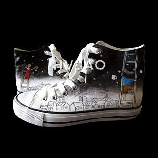 Picture of HVBAO Our Starry Sky High-Top Sneakers 1012144117 (Sneakers, HVBAO Shoes, Taiwan Shoes, Womens Shoes, Womens Sneakers)