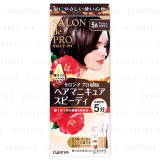 DARIYA - Salon de Pro Speedy Hair Manicure (#5A Ash Brown) 1 set 1059483029