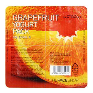 Buy The Face Shop – Grapefruit Yogurt Pack 36g (9g x 4)