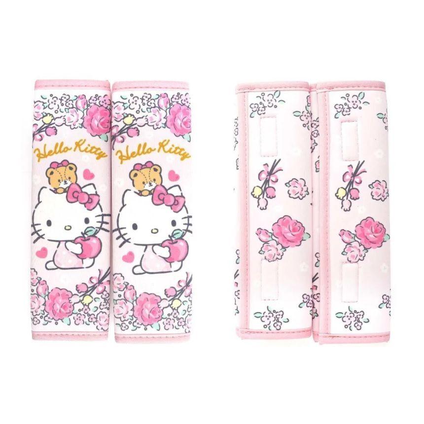 Hello Kitty Seat Belt Cover Set 2 pcs 1 set