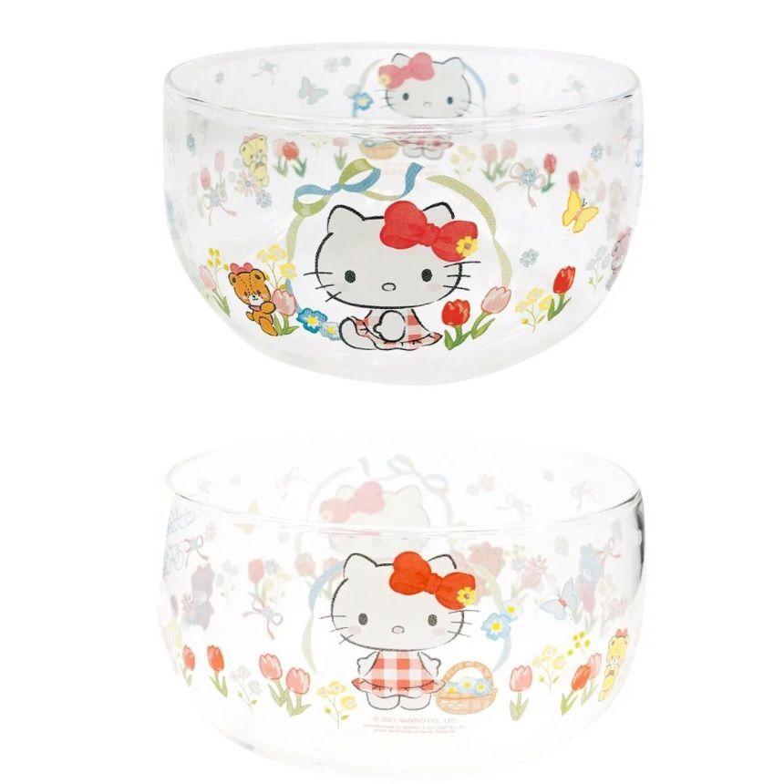 Hello Kitty Glass Bowl 1 pc