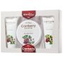 Derma V10 - Cranberry Body Selection Set (3 items) : Body Butter + Body Scrub + Body Wash 3 pcs