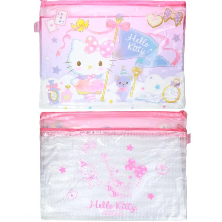 Hello Kitty A4 Double Zip Folder 1 pc