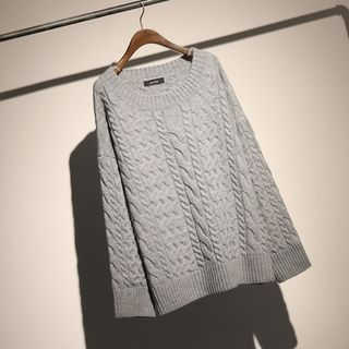 Rib Knit Sweater 1069090775