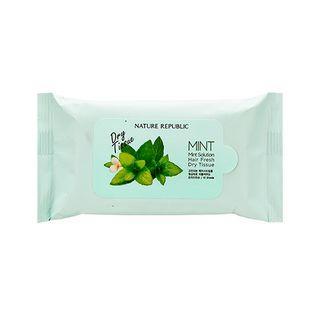 NATURE REPUBLIC - Mint Solution Hair Fresh Dry Tissue 10pcs 10pcs 1060061749