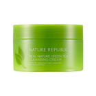 NATURE REPUBLIC - Real Nature Green Tea Cleansing Cream 200ml 1596