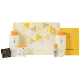 Sulwhasoo - Essential Duo Set B: Balancing Water EX 125ml + 15ml + Emulsion EX 125ml + 15ml + Herbal Soap 50g + First Care Activating Mask 1pc + Serum EX 8ml 7pcs 1065231166