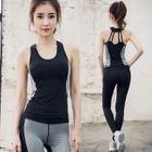 Set: Sport Tank Top + Yoga Pants 1596