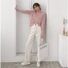 Hooded Long-Sleeve Knit Top 1596
