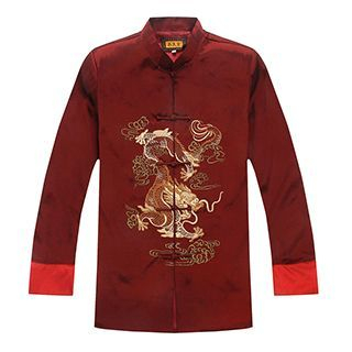 Embroidered Chinese Frog Button Jacket