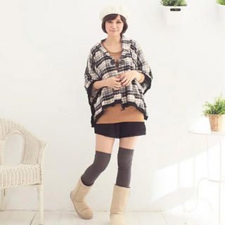 PompomAccent Crocheted Shorts