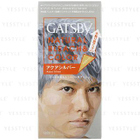 Mandom - Gatsby Natural Bleach & Color (Aqua Silver) 1 set 1596