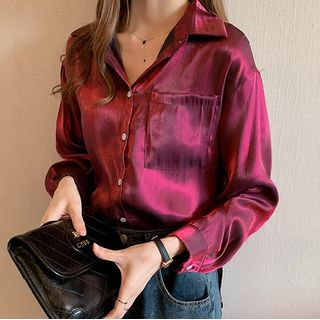 Happo Pocket Detail Blouse