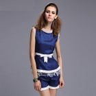 Set: Bow-Accent Top + Shorts 1596