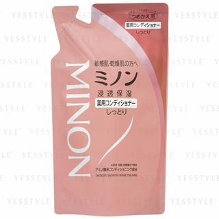 Minon - Medicated Hair Conditioner (Refill) 380ml 1066096226