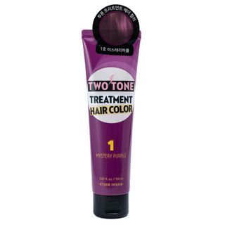 Etude House - Two Tone Treatment Hair Color - 11 Colors #01 Mystery Purple