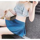 Set: Ruffle Bikini Top + Swim Skirt 1596
