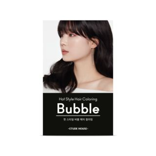 Etude House - Hot Style Bubble Hair Coloring NEW - 9 Colors NEW - #1B Deep Black