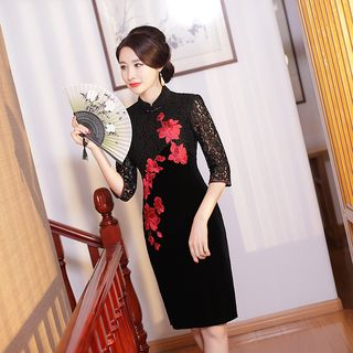 Gothic Oriental Cheongsam - Modern Step for Traditional Clothing