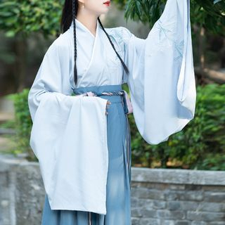 Couple Matching Embroidered Hanfu