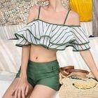 Set: Ruffle Bikini + Shorts 1596