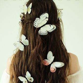 Set of 12: Butterfly Hair Clip 1055186126