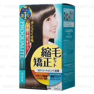 Utena - Proqualite Hair Straightening Set (Long Hair) 1 set 1060519350