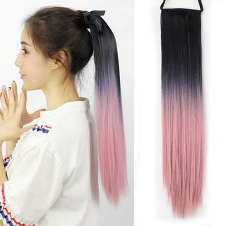Gradient Straight Hair Extension