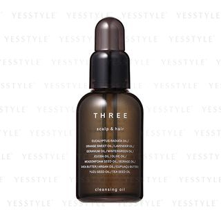 THREE - Scalp & Hair Cleansing Oil 60ml 1067101089